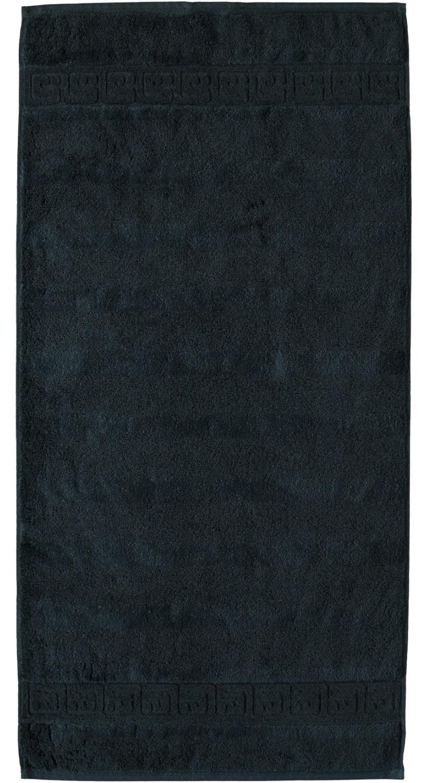 Prosop baie Cawo Noblesse Uni 50x100 cm negru poza