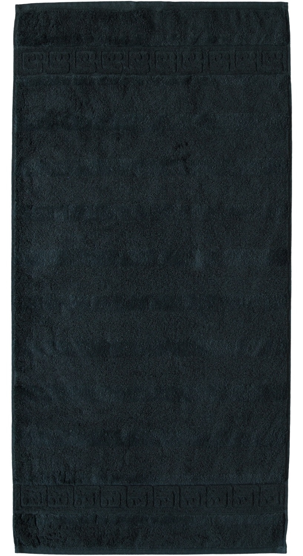 Prosop baie Cawo Noblesse Uni 50x100 cm negru imagine