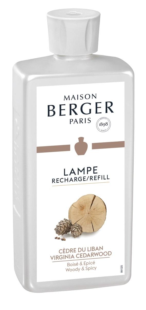 Parfum pentru lampa catalitica Berger Cedre du Liban 500ml poza