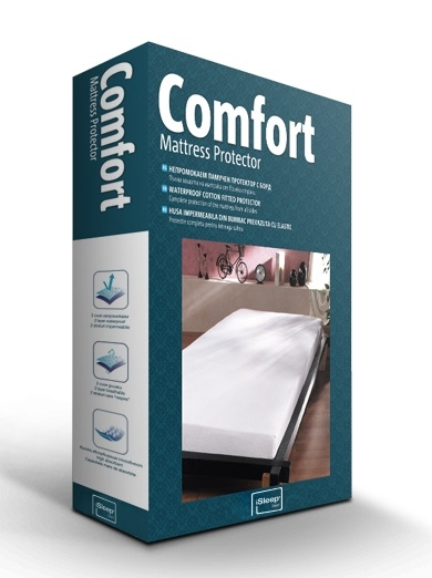 Protectie saltea iSleep Comfort 140x200cm impermeabila imagine