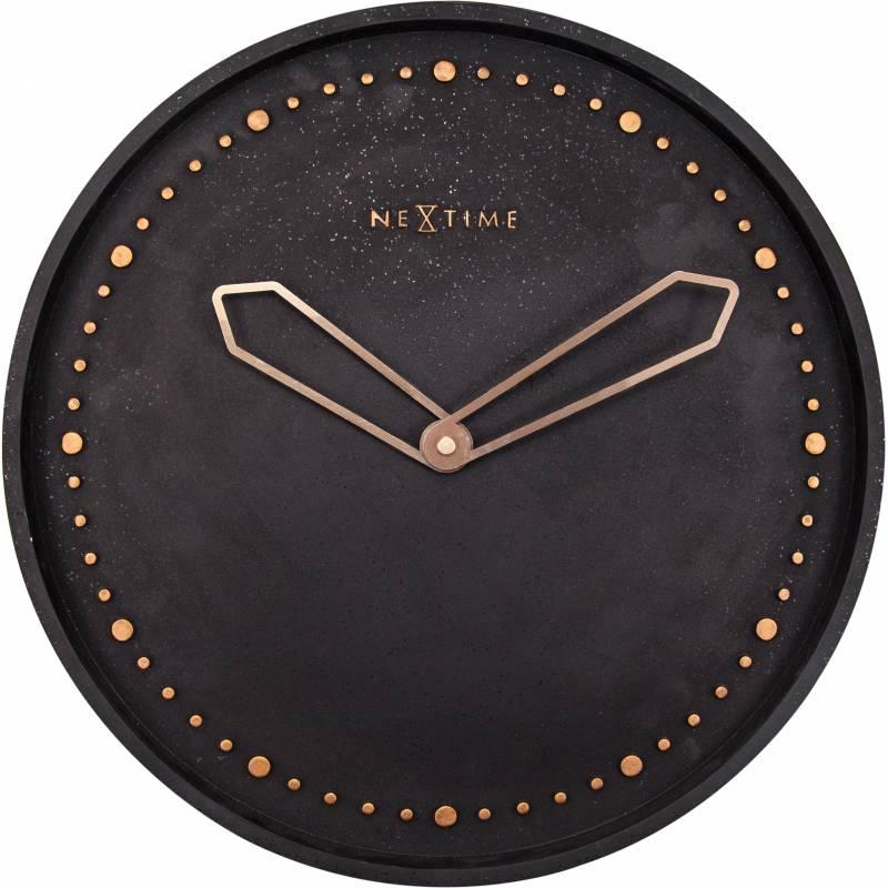 Ceas de perete NeXtime Cross 35cm Black