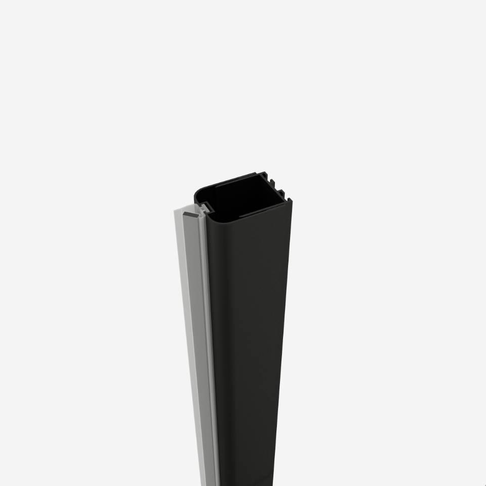 Profil inchidere nisa Sanotechnik Soho Black Edition Elite 3.5-4.5cm imagine sensodays.ro