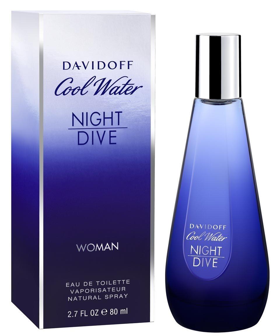 Davidoff Coolwater Night Dive Eau de Toilette pentru femei 80ml