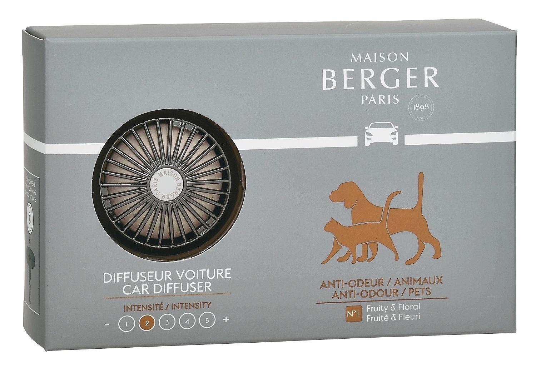 Set odorizant masina Berger Animals + rezerva ceramica imagine