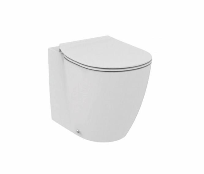 Vas WC Ideal Standard Connect AquaBlade back-to-wall pentru rezervor ingropat
