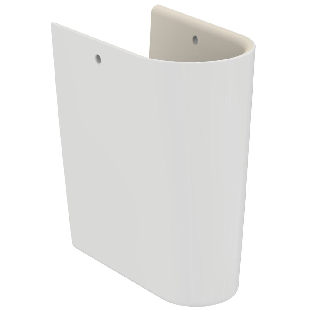 Semipicior pentru lavoar Ideal Standard Connect Air Cube /Curve imagine sensodays.ro