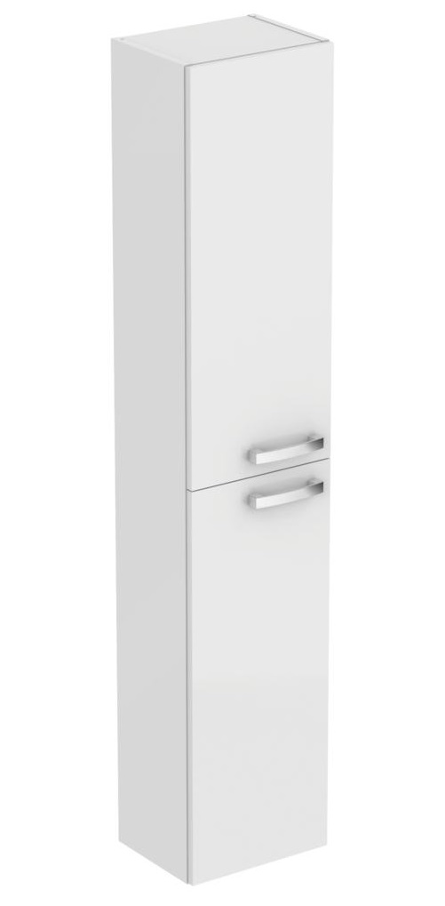 Dulap inalt suspendat Ideal Standard Tempo cu doua usi 300x235x1500 mm alb lucios imagine sensodays.ro