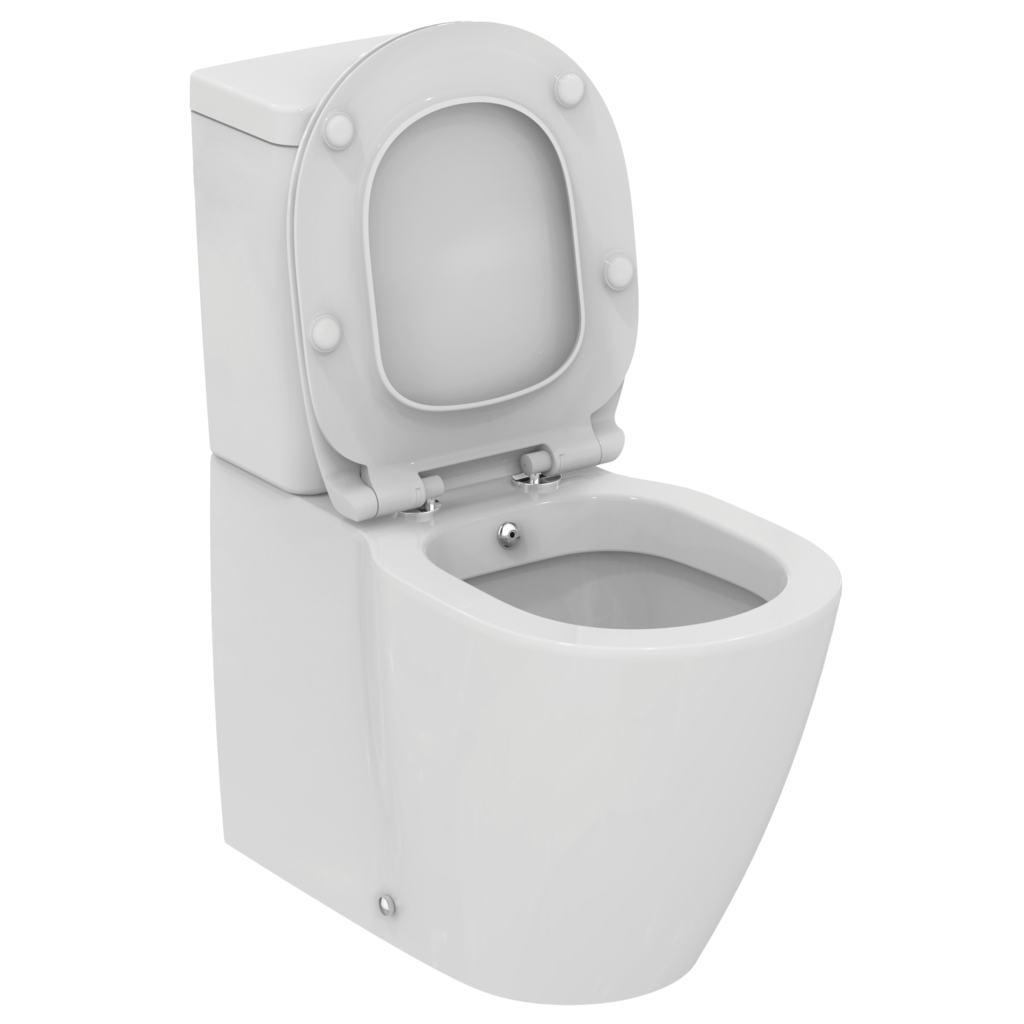 Vas WC Ideal Standard Connect back-to-wall cu functie de bideu