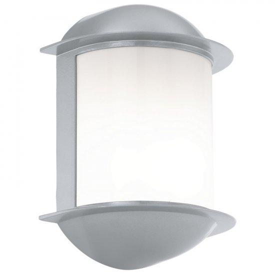 Aplica de exterior cu LED Eglo Modern Isoba 1x7W 16x22x10cm aluminiu silver imagine sensodays.ro