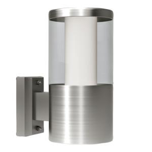 Aplica de exterior cu LED Eglo Modern Basalgo 1 1x3.7W 10.5x18x21cm inox imagine sensodays.ro