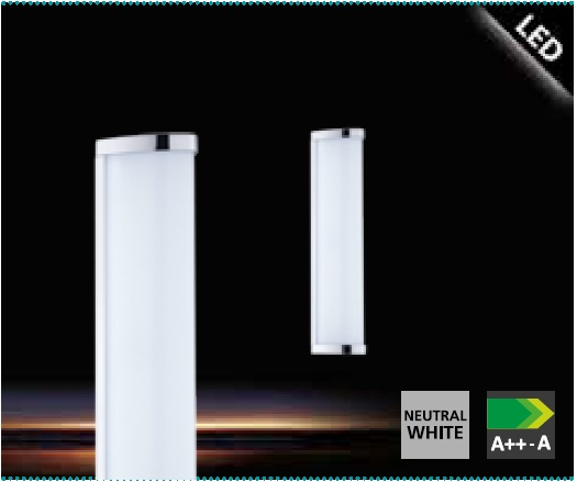 Aplica Eglo Gita 2 1x8W 35cm colectia Style Alb poza