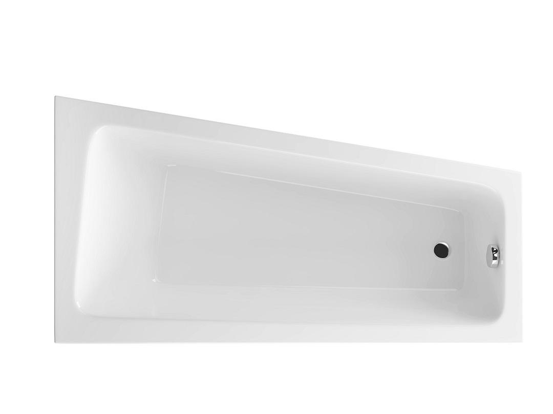 Cada baie asimetrica Radaway Evia 150x80cm acril orientare dreapta
