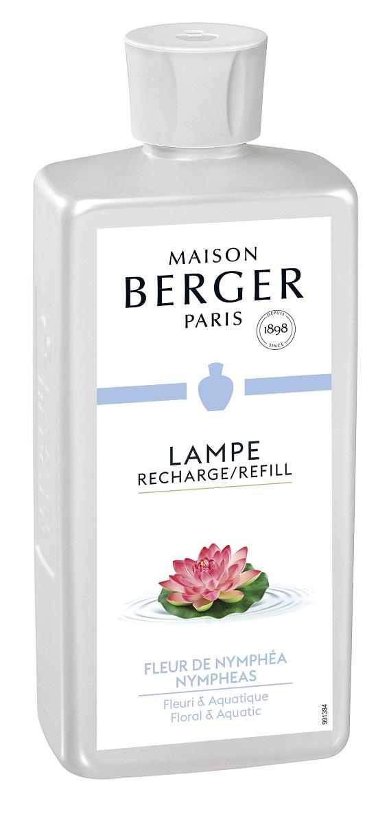 Parfum pentru lampa catalitica Berger Fleur de Nymphea 500ml