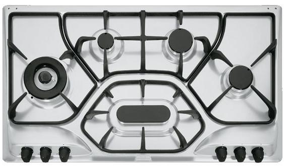 Plita gaz incorporabila Franke Opera POT 6 3GAV-D-O 6 arzatoare 90cm gratare fonta Inox Microdekor