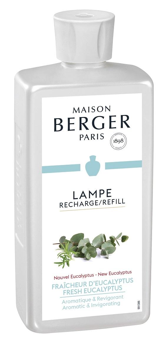 Parfum pentru lampa catalitica Berger Fraicheur d'Eucalyptus 500ml imagine