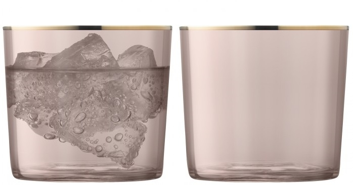 Set 2 pahare LSA International Sorbet Tumbler Cinnamon 310ml poza
