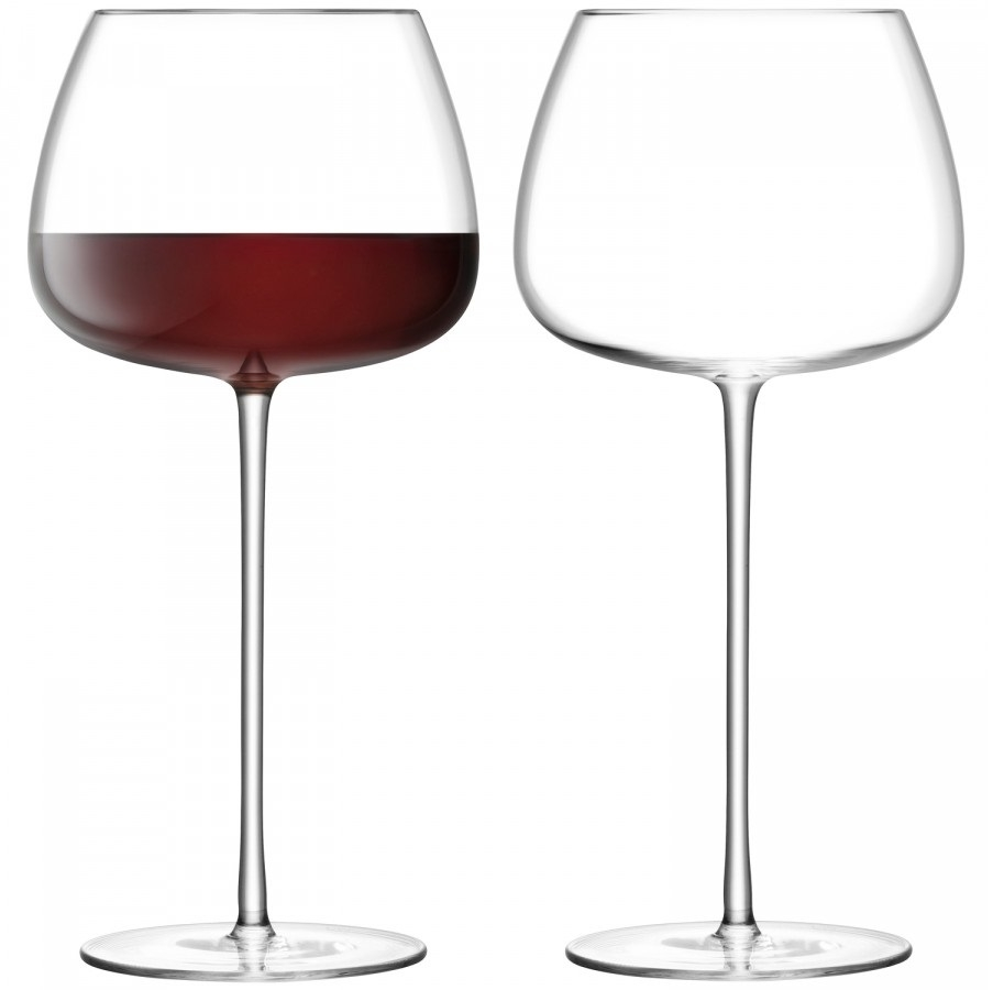 Set 2 pahare vin rosu LSA International Wine Culture Baloon 590ml poza