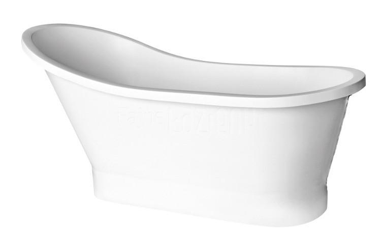 Cada ovala free-standing Besco Gloria 160x68 cm poza