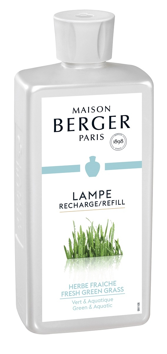 Parfum pentru lampa catalitica Berger Herbe fraiche 500ml poza