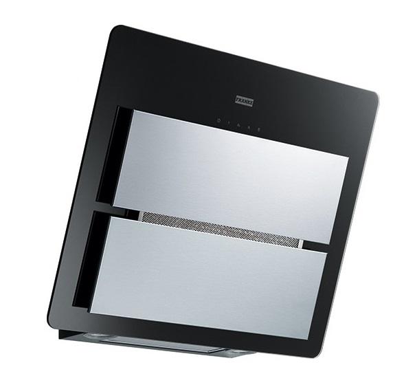 Hota Franke Maris FMA 607 BK/XS 60cm 720 m3/h intensiv Inox/Cristallo nero