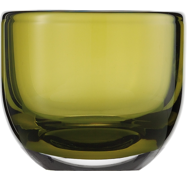 Suport lumanare Zwiesel 1872 Living Lights Olive 74x92mm poza