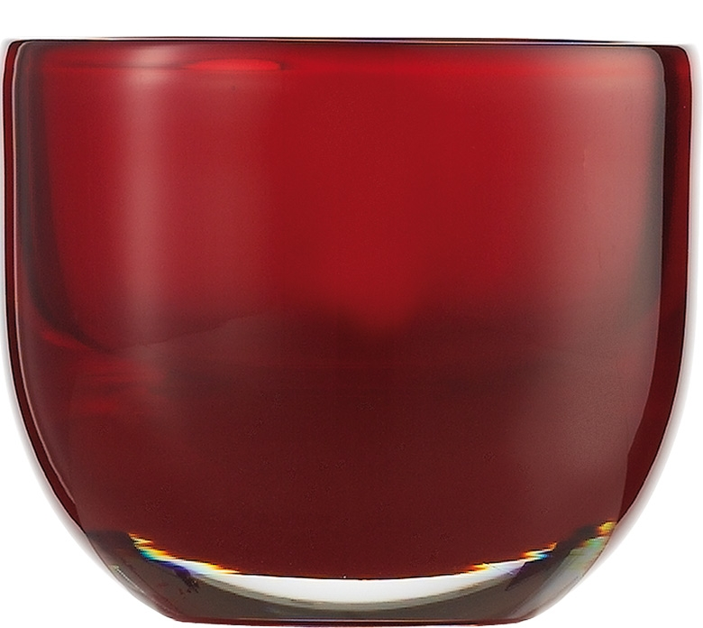 Suport lumanare Zwiesel 1872 Living Lights Red 74x92mm poza