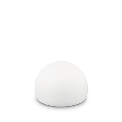 Lampa de exterior Ideal Lux Live TL1 Sfera 1x2.4W LED d18cm autonomie 10ore alb imagine sensodays.ro