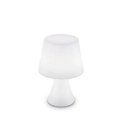 Lampa De Exterior Ideal Lux Live Pt1 Lumetto 1x2.5w Led H27.5cm Alb