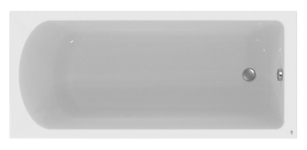 Cada baie rectangulara Ideal Standard Hotline 180x80cm acril poza