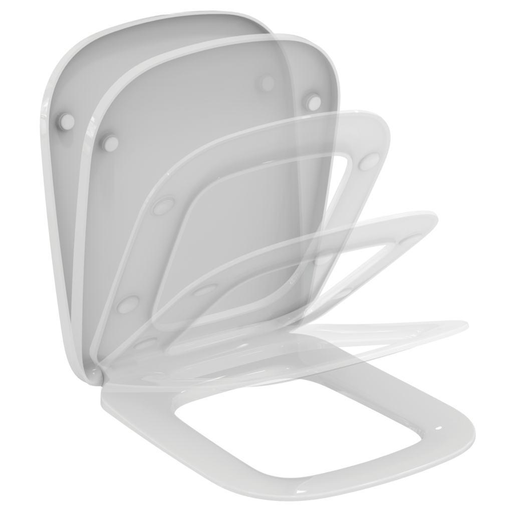 Imagine Capac Wc Ideal Standard Esedra Cu Inchidere Lenta