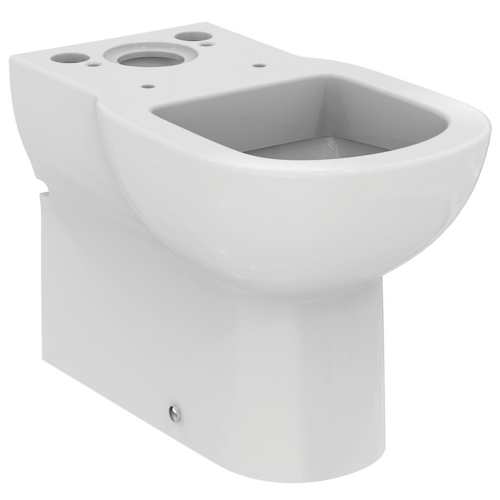 Vas WC Ideal Standard Tempo back-to-wall cu proiectie scurta 37x60cm