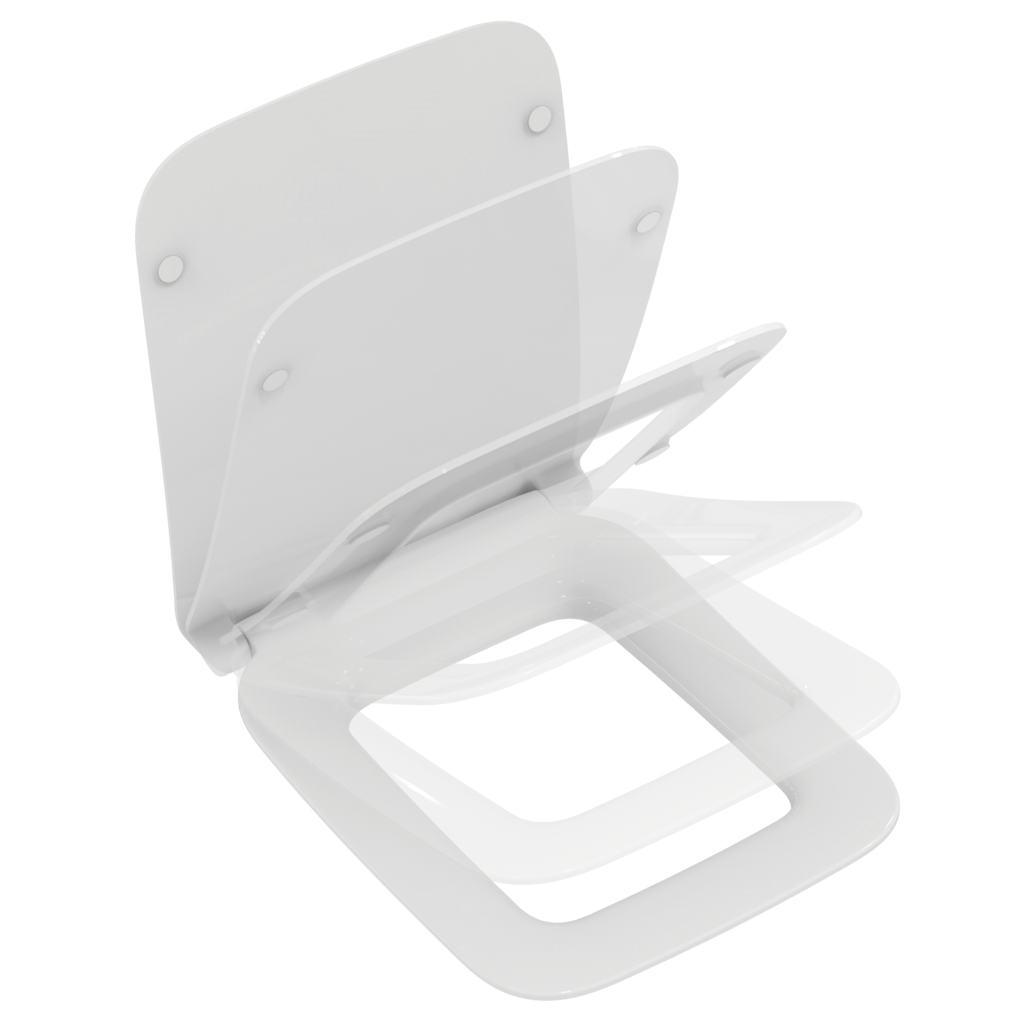 Capac WC Ideal Standard Strada II slim cu inchidere lenta poza