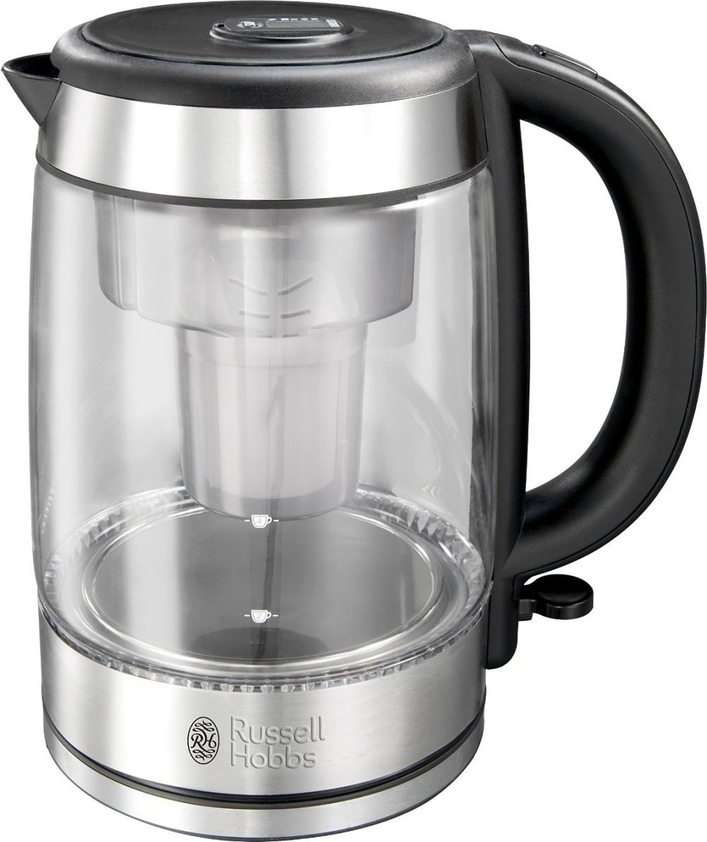 Fierbator Russell Hobbs 20760-70 Clarity 1 litru 2200W filtru apa carcasa sticla