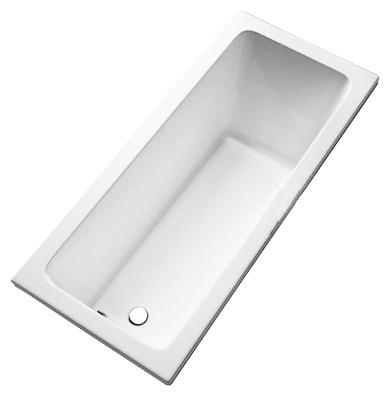 Cada baie rectangulara Kolo Modo 170x75cm acril picioare incluse poza