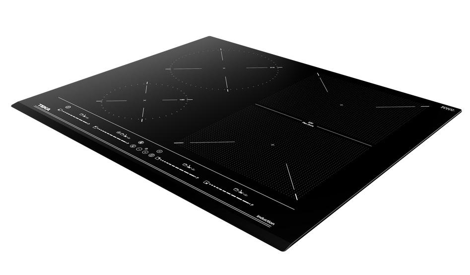 Plita inductie incorporabila Teka Space IZF 64440 cu 4 zone 60 cm MultiSlider PRO Touch Control Teka Flex negru poza