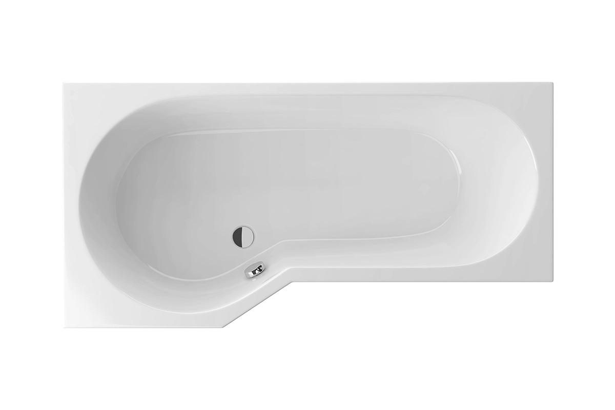 Cada baie asimetrica Radaway Kariteia 160x80cm acril orientare stanga imagine