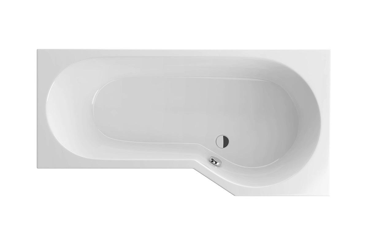 Cada baie asimetrica Radaway Kariteia 160x80cm acril orientare dreapta imagine