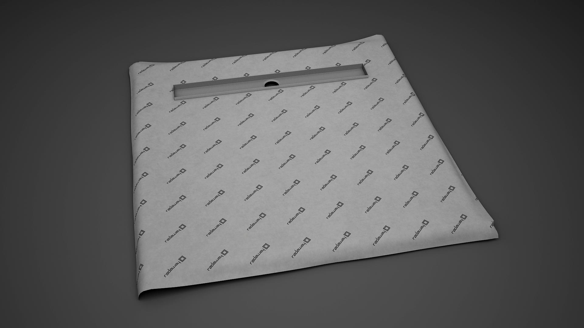Kit rigola de dus Radaway RadaDrain 90x90cm placare 8-12mm imagine