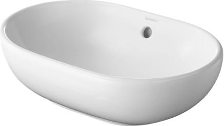 Lavoar tip bol Duravit Bathroom_Foster 49.5x35cm fara orificiu baterie montare pe blat