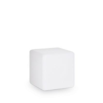 Lampa de exterior Ideal Lux Luna PT1 D30 1x60W 30x30x30cm alb