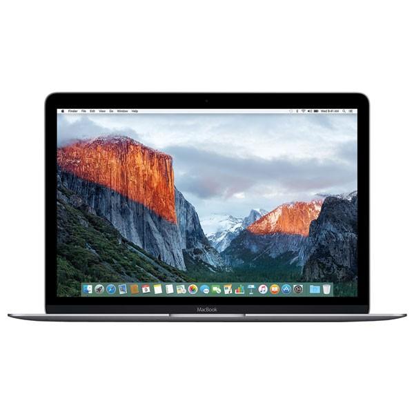 Ultrabook Apple MacBook Retina 12 IPS Intel Dual-Core M3 1.1GHz pana la 2.2GHz 8GB 256GB SSD OS X El Capitan Space Gray