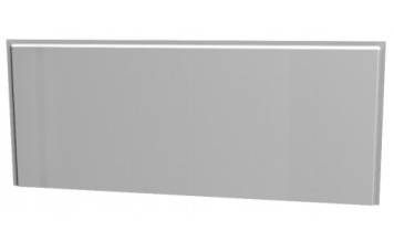 Masca frontala Kolo Uni2 140cm MDF cu invelis PVC pentru cazi rectangulare imagine sensodays.ro