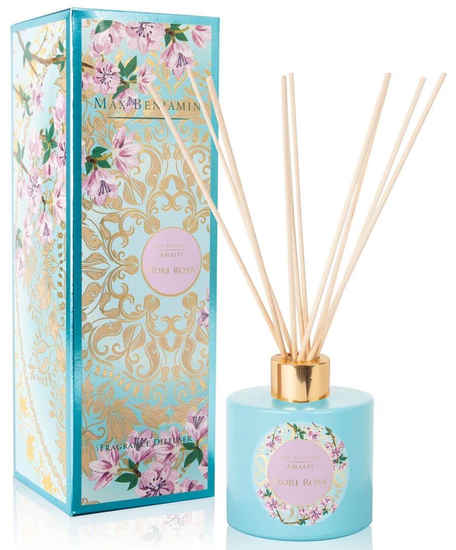 Difuzor parfum Max Benjamin Amalfi Fiori Rosa 150ml imagine