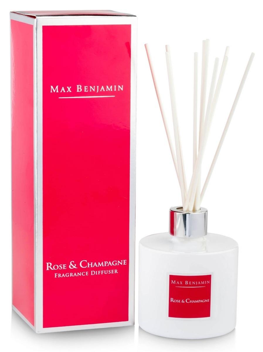Difuzor parfum Max Benjamin Classic Rose & Champagne 150ml imagine