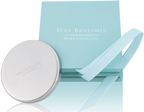 Capac pentru lumanare parfumata Max Benjamin Silver GiftBox poza