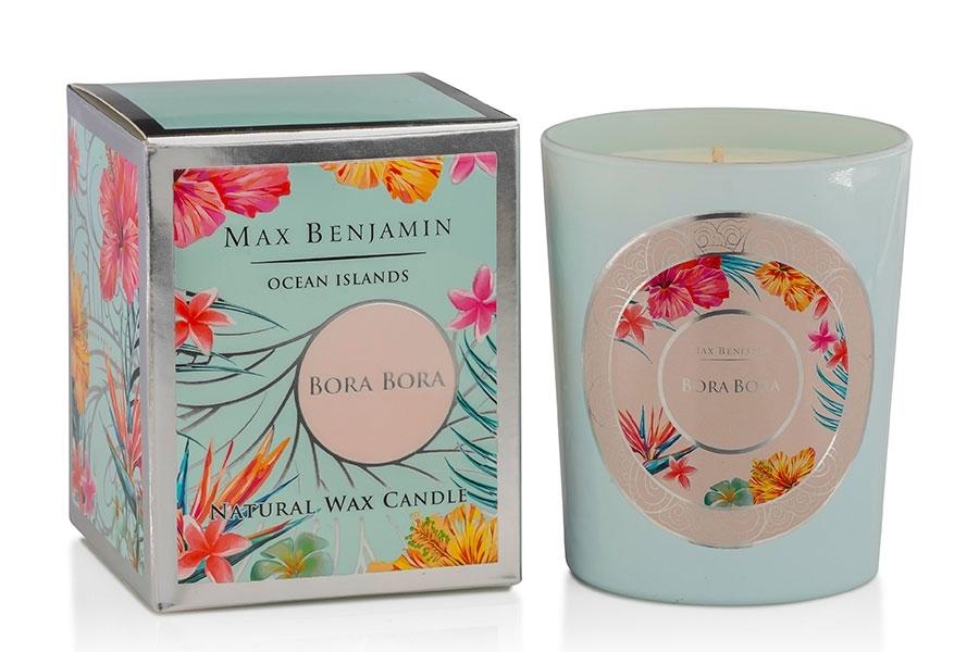 Lumanare parfumata Max Benjamin Ocean Islands Bora Bora 190g poza