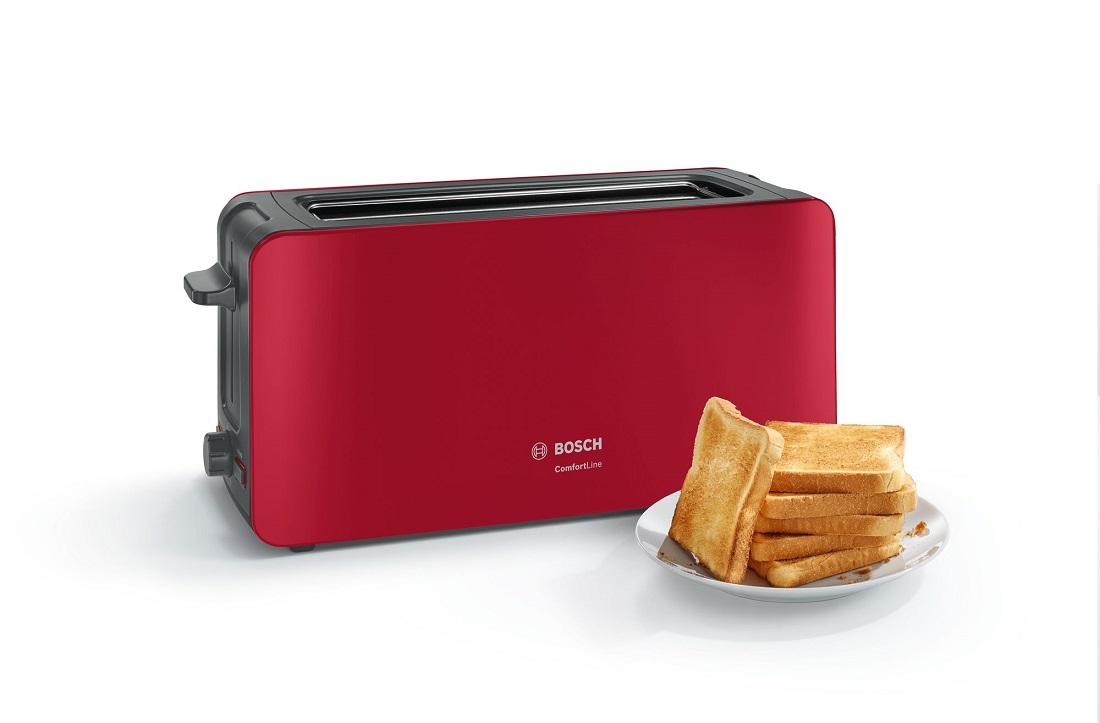 Prajitor de paine Bosch TAT6A004 ComfortLine rosu