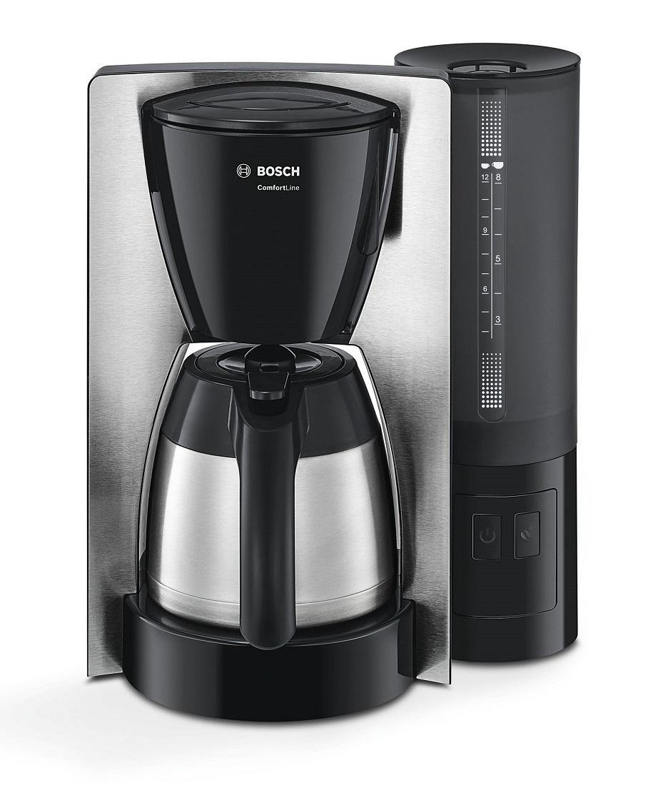 Cafetiera Bosch TKA6A683 ComfortLine Thermo 8-12 cesti 1 litru 1200W EasyDescale3 negru