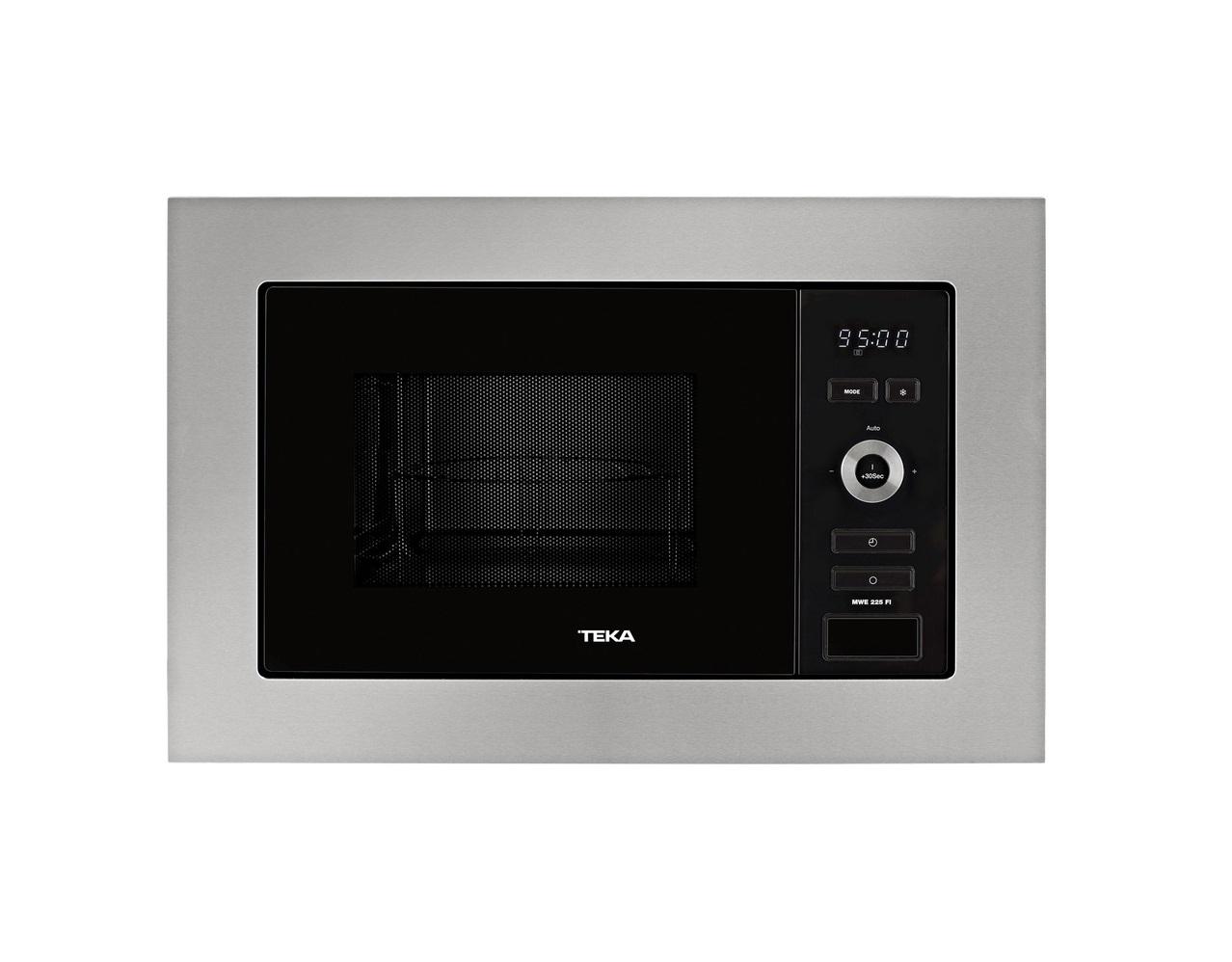 Cuptor cu microunde incorporabil Teka MWE 225 FI 20 litri grill 800W inox poza