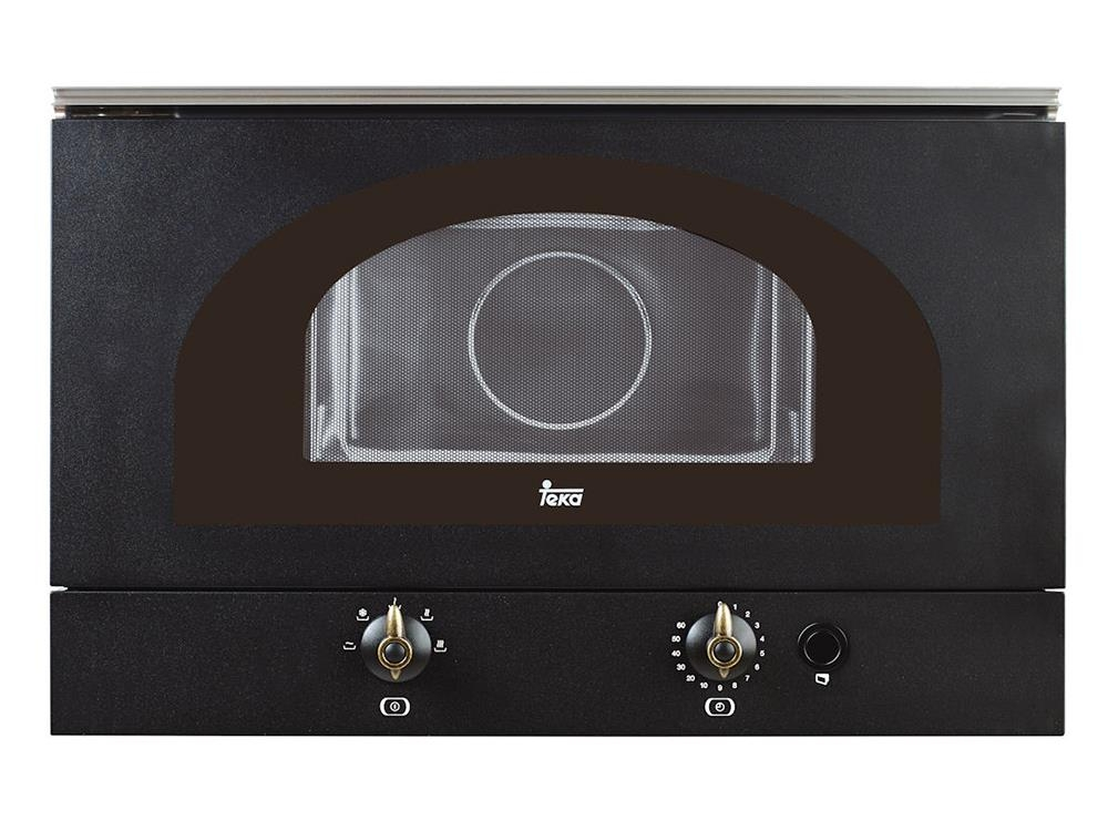 Cuptor cu microunde incorporabil Teka MWR 22 BI 850W 22 litri baza ceramica antracit poza